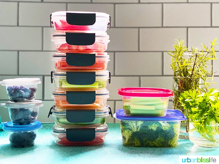 meal prep & planning