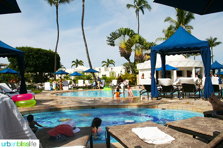 fairmont kea lani maui kid pools