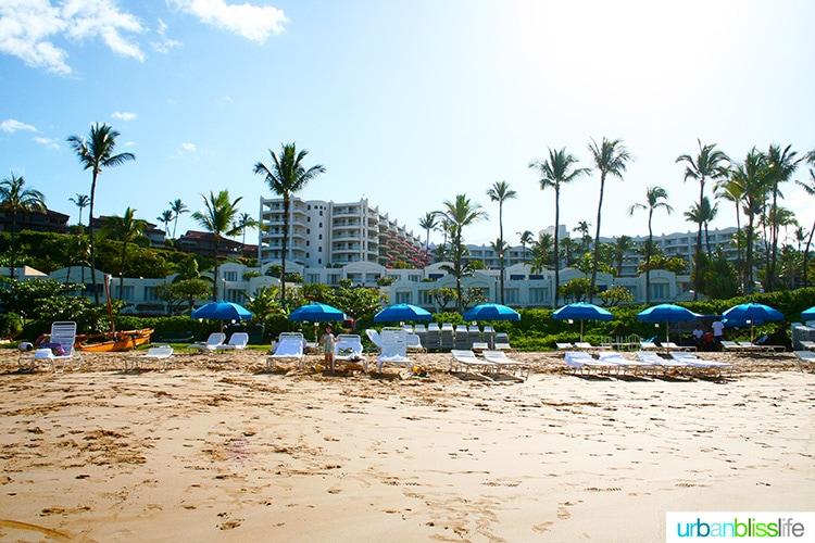 fairmont kea lani maui beach