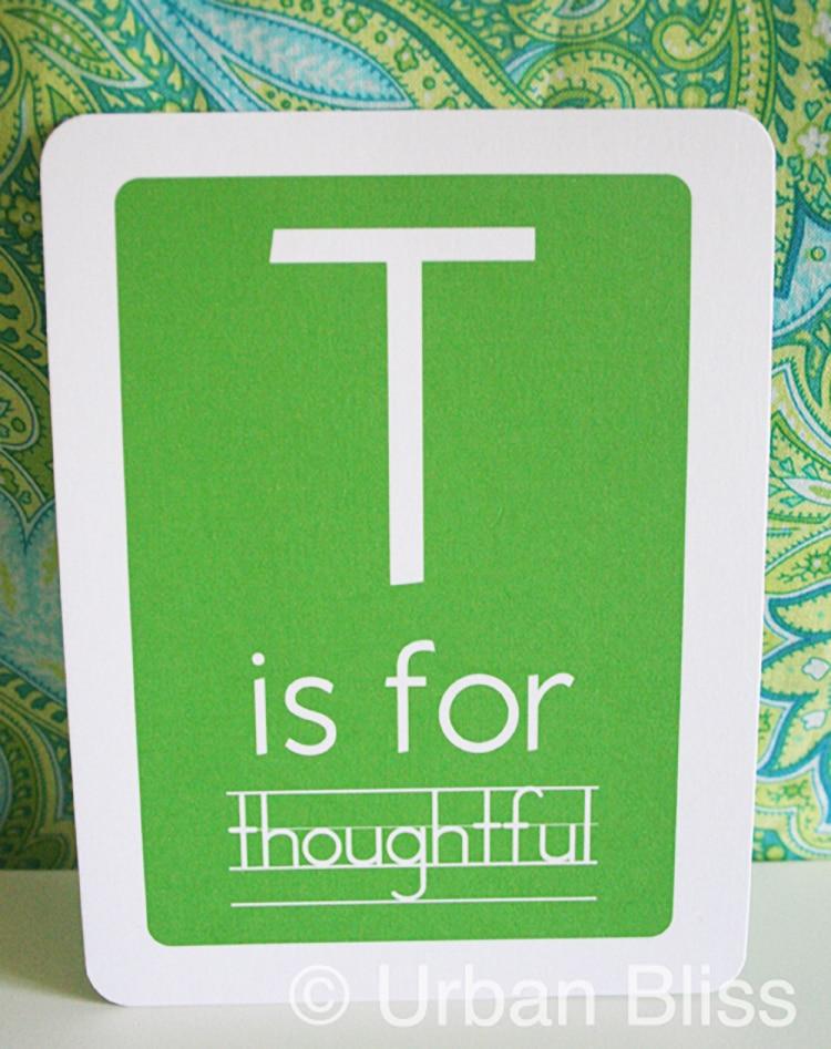single Teacher Appreciation Printable Flash Cards
