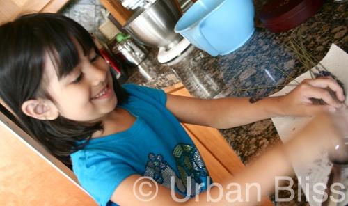 Lavender Shortbread Cookies - kids cooking