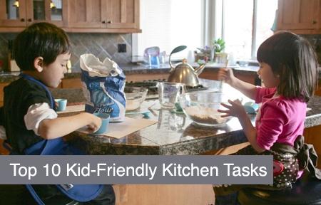 Top 10 Kid-Friendly Kitchen Tasks Urban Bliss