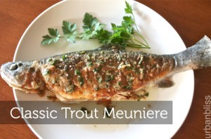 Classic Trout Meuniere by Urban Bliss