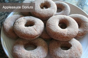 Applesauce Donuts recipe by Urban Bliss