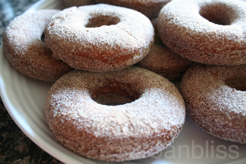 Apple Spice Donuts Recipe on Urban Bliss Life