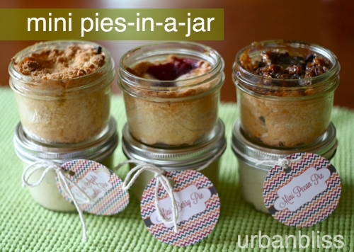 mini berry pies in a jar mini pecan pies in a jar mini apple pies in a jar recipes