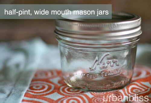 Pie making party: mini pies in mason jars