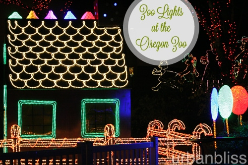 Zoo Lights - Oregon Zoo - Gingerbread House