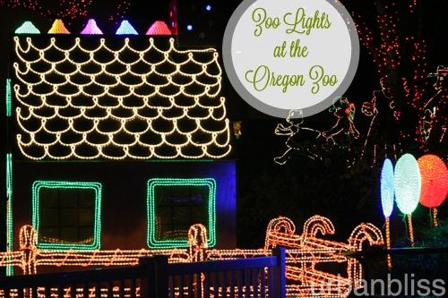 Zoo Lights - Oregon Zoo - Gingerbread House