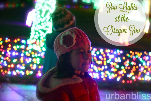 Zoo Lights - Oregon Zoo - magic wonder kids