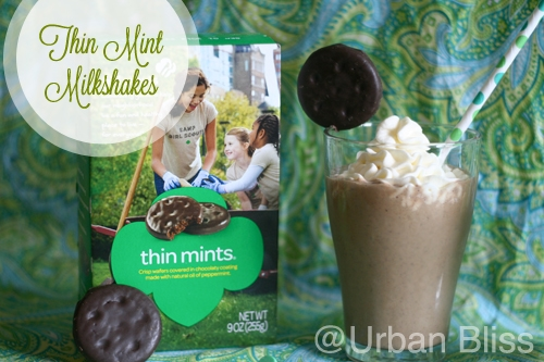 Thin Mint Milkshakes - 02