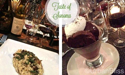 Taste of Sonoma - Dinner 1