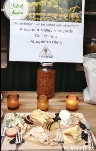 Sonoma Wine Country tasting