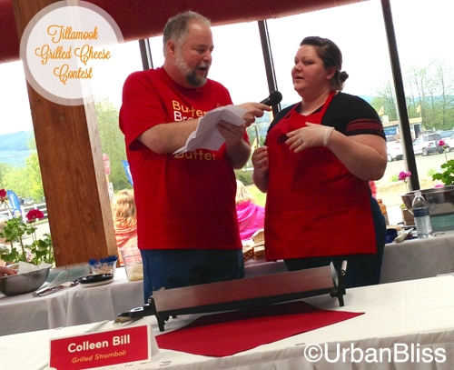 Tillamook Grilled Cheese Contest - Tommy and Colleen