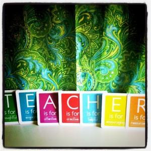 Teacher Appreciation Week printables