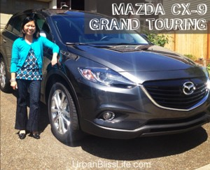 Mazda CX-9 Grand Touring AWD family car SUV review