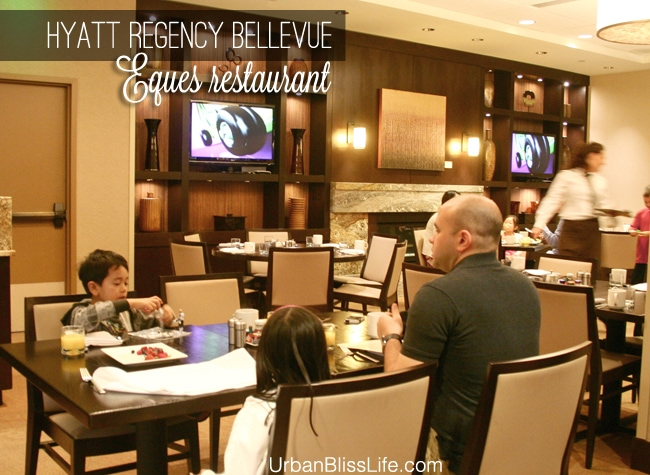 Hyatt Regency Bellevue Room Service Menu