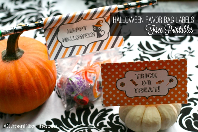 Halloween Favor Bag Labels 03