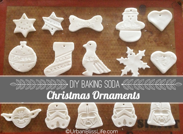[DIY Bliss] Baking Soda Christmas Ornaments