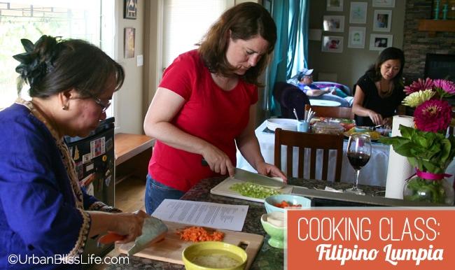 Cooking Class - Filipino Lumpia 02