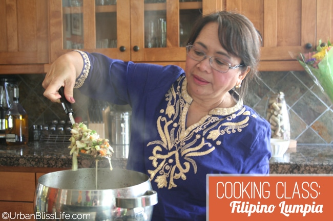 Cooking Class - Filipino Lumpia 08
