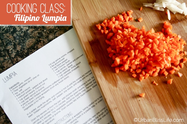 Cooking Class - Filipino Lumpia 09
