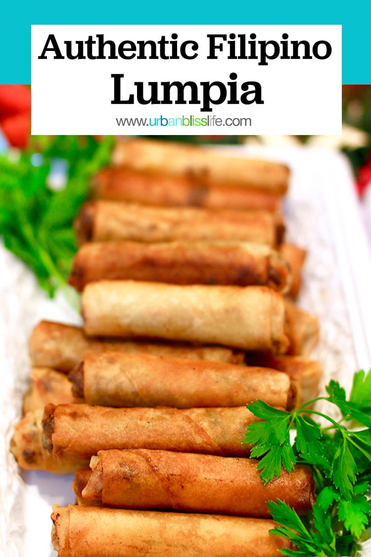 Filipino lumpia recipe