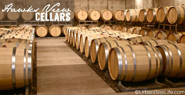 HawksViewCellars - barrels
