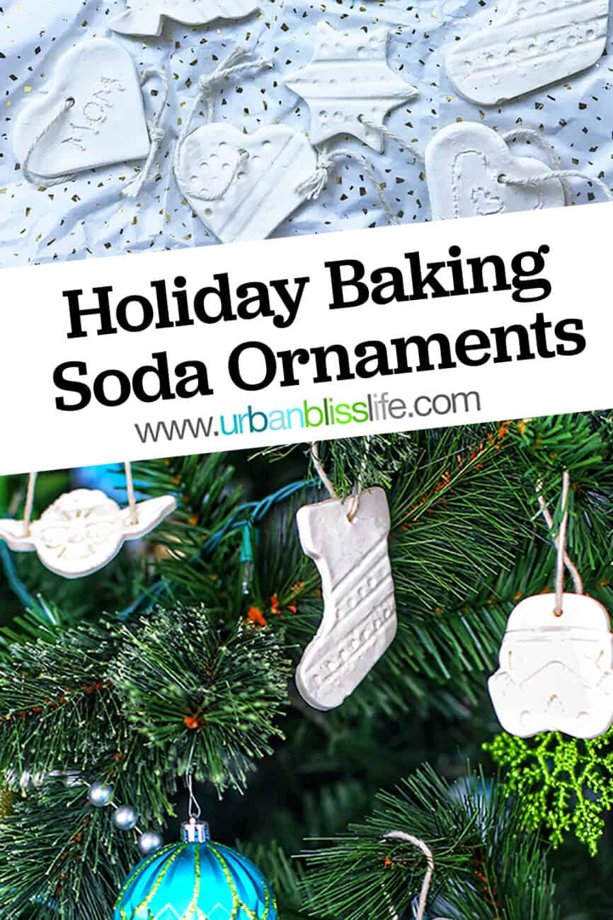 DIY baking soda ornaments
