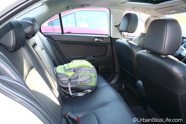 Car review of the 2013 Mitsubishi Lancer
