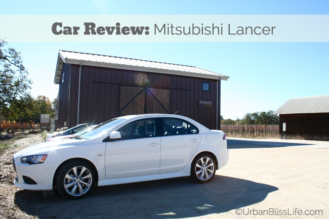 Car Review: 2014 Mitsubishi Lancer GT