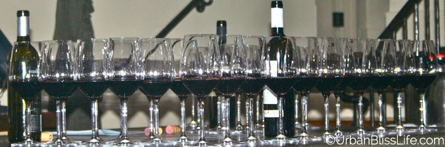Serratto wine flight