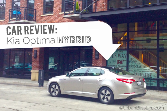 Car Review: Kia Optima Hybrid