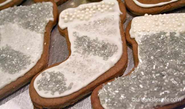 Gold Silver White Christmas - Cookies