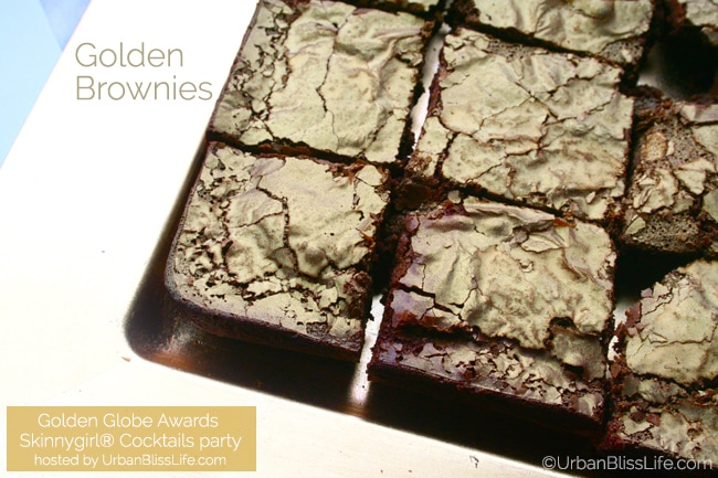 Golden Globes Skinnygirl party - brownies