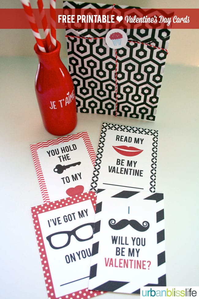 [Free Printables Week] Hipster Valentine's Day Cards