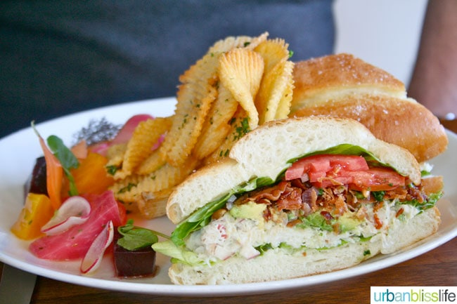 Barndiva sandwich