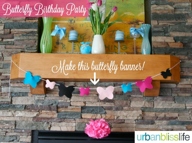 Butterfly Birthday Party by Urban Bliss Life
