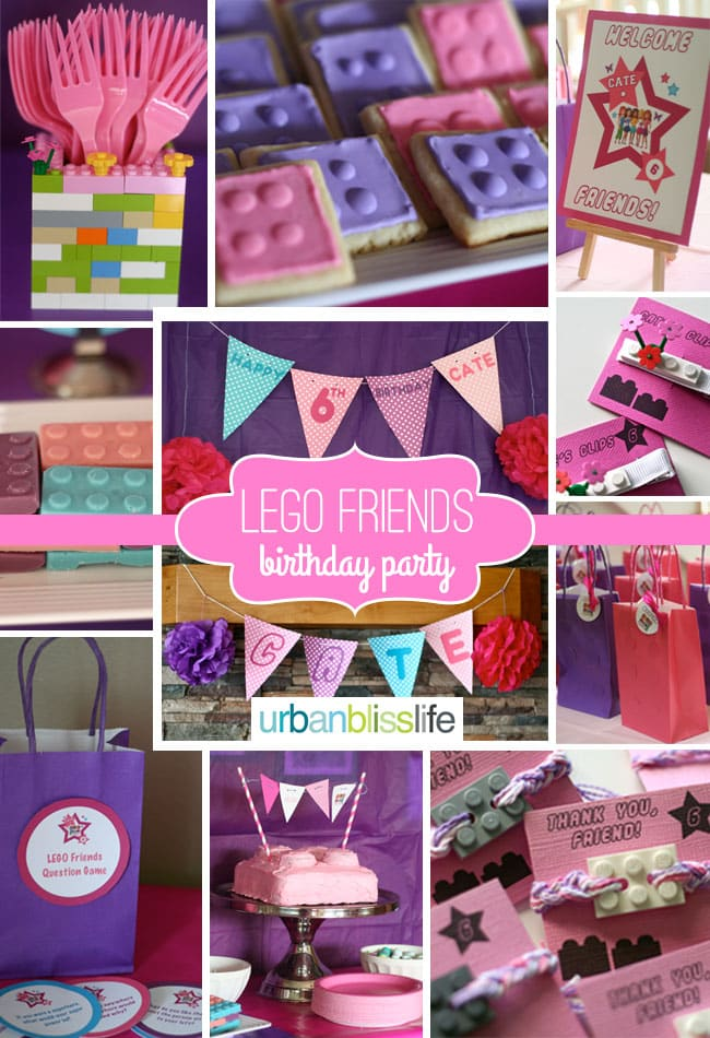 Lego Friends Birthday Party Planning Tips and Party Ideas