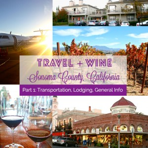 Travel and Wine Bliss: Sonoma County, California