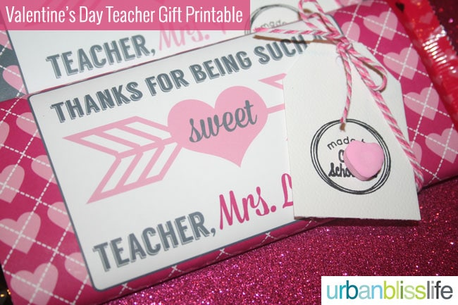 graphic relating to Printable Teacher Valentine Cards Free named Past Instant Valentines Working day Instructor Present Cost-free Printable