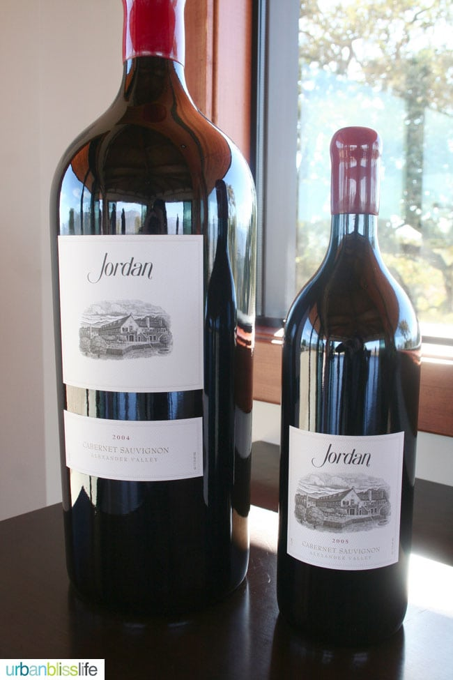 Jordan Estate Winery. Travel to Sonoma Wine Country.