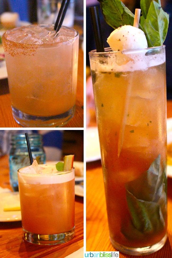 Acadia cajun restaurant Portland, Oregon cocktails