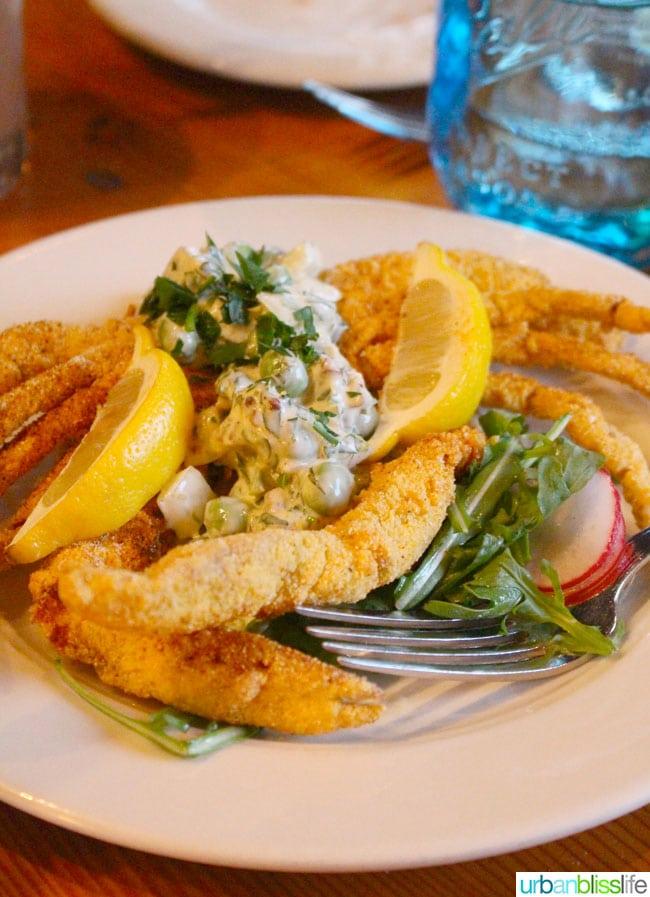 Acadia cajun restaurant Portland, Oregon crab