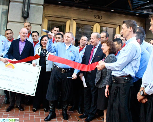 Fogo de Chao Portland Oregon restaurant ribbon cutting