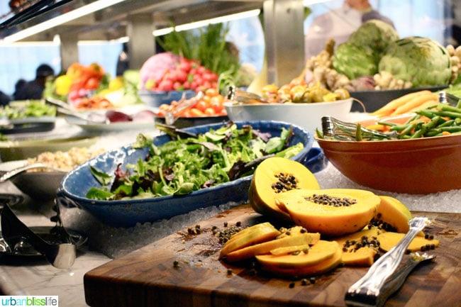 Fogo de Chao Portland Oregon restaurant salad