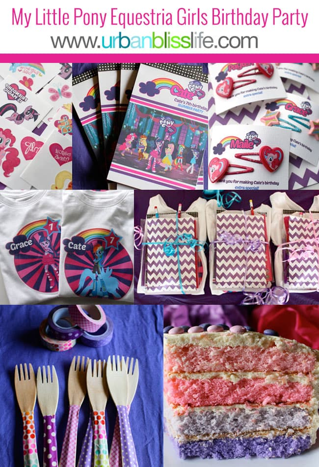 My Little Pony Equestria Girls Birthday Party ideas inspiration