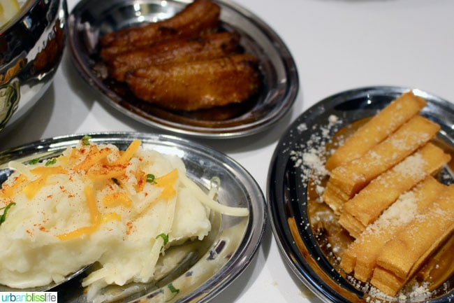 Fogo de Chao side dishes