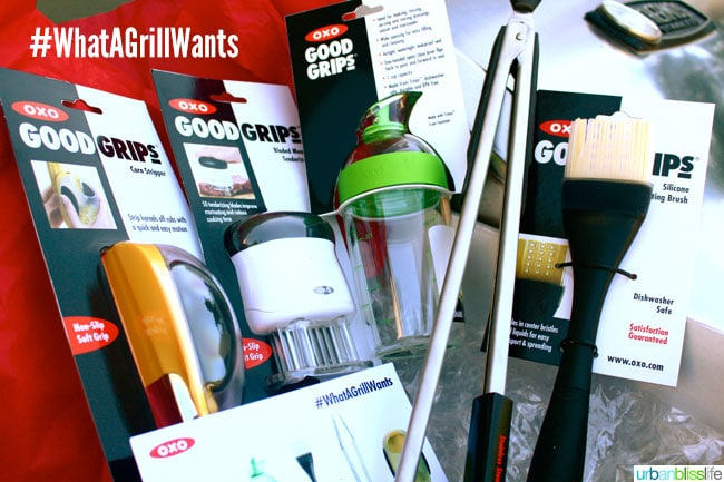 #WhatAGrillWants OXO Grilling Tools