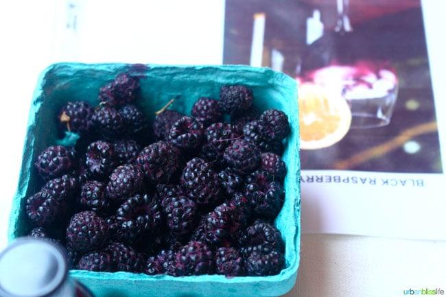 Oregon Berry Festival black raspberries